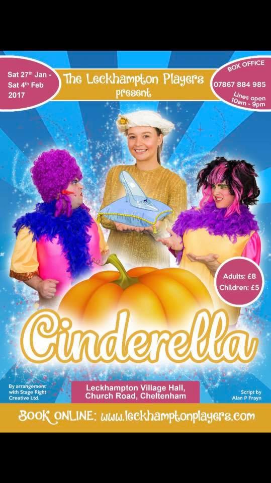 Cinderella Pantomime poster